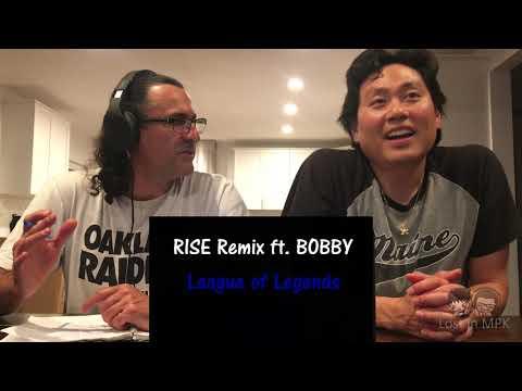 Reaction - RISE Remix ft. BOBBY (Ikon) - League of Legends