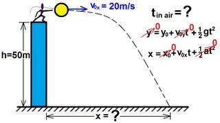 Physics - Mechanics: Moтion In Two-Dimensions: Projectile Motion (2 of 21) Projectile