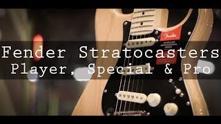 2018 Strats: Player, American Special and Professional Series Video
