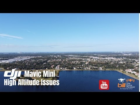 DJI Mavic Mini High Altitude Issues