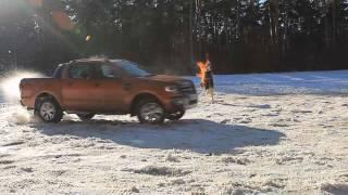 """FORD Ranger 2013: Тест-драйв в программе """"Москва рулит"""""""