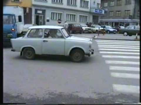 Traffic in the Czech Republic in 1996: a time document!
