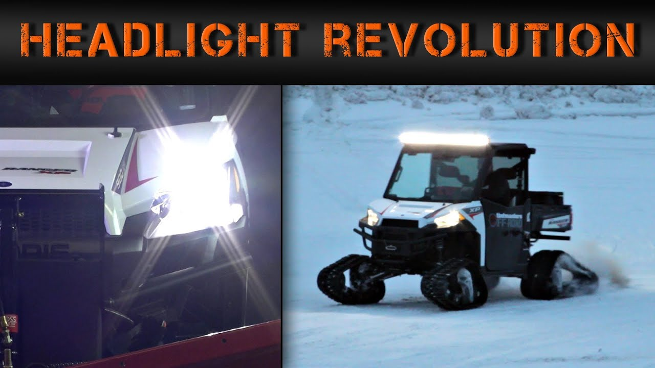 Polaris Ranger 900 LED Headlight Conversion Kit install