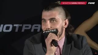 KONFERENCJA FAME MMA 3 (CZĘŚĆ 2 ) MUSISZ TO ZOBACZYĆ!!!?