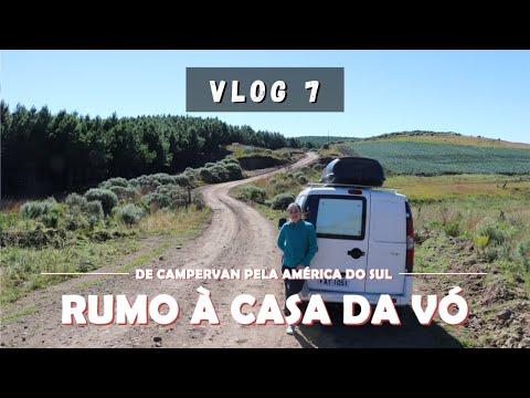Vlog #7 - De São José Dos Ausentes A Santo Ângelo - De Campervan Pela América Do Sul