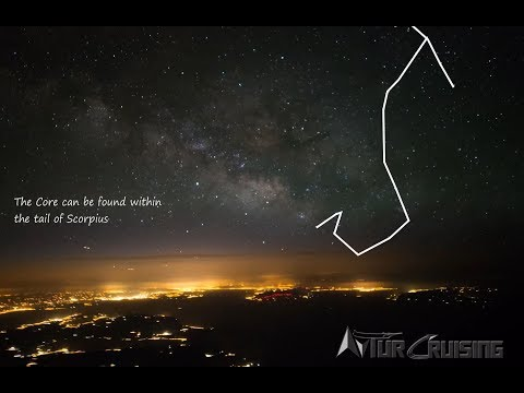 Chasing The Milky Way In 4k - Airline Pilots View