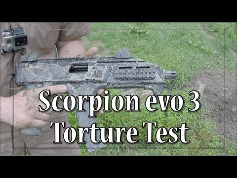 CZ Scorpion Evo 3 (torture test)