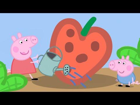 Kids TV and Stories | Season 1 | Episode 10 - Gardening | Peppa Pig Full Episodes