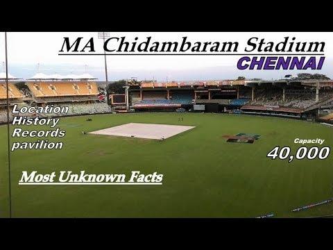 M.A.Chidambaram Stadium,Chepauk I Chennai II Capacity, History, Records II All Unknown Facts II