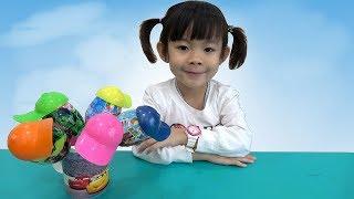 Bóc Trứng Bất Ngờ Lấy Đồ Chơi – Surprise Eggs Unboxing ❤ AnAn ToysReview TV ❤