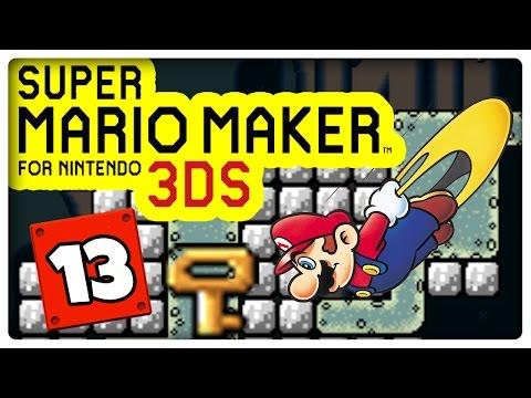 SUPER MARIO MAKER 3DS Part 13: Wofür ist dieser Schlüssel?!