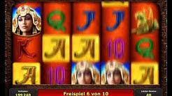 Queen Cleopatra kostenlos spielen - Novomatic / Novoline