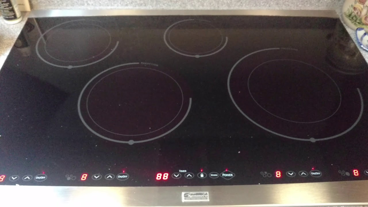 Kenmore Elite Induction Cooktop Problem And Solution See Description For