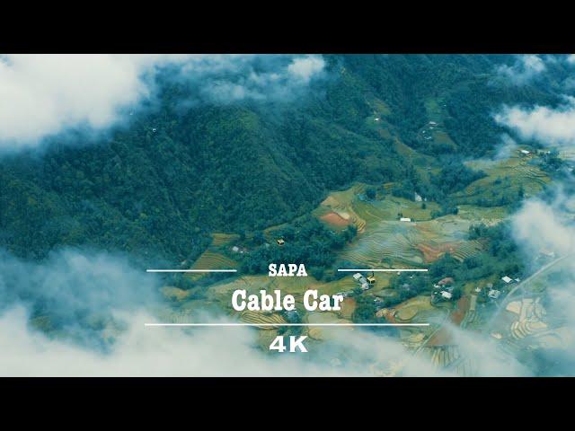 Fansipan Legend Cable Car - Sapa by Drone (4K)
