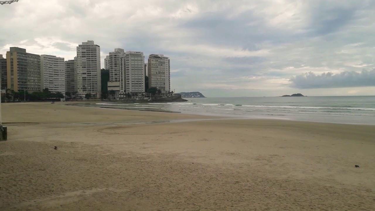 Queria procurar Ouro Mas Toque de Recolher nas Praias da Baixada Santista por causa do Coronavirus