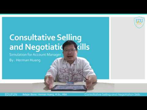 Consultative Selling and Negotiation Skills
