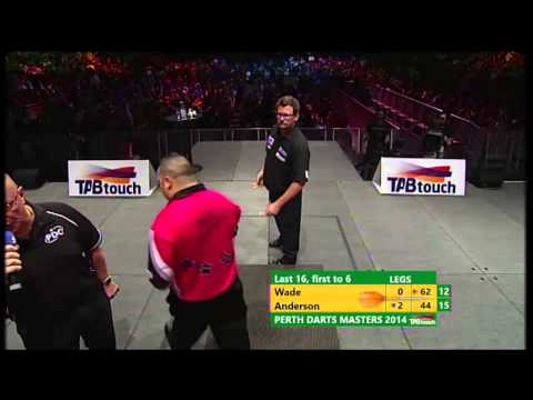 PDC World Tour 2014 - Perth Darts Masters 2014 - First Round - Wade VS B Anderson