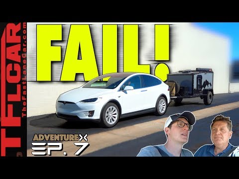 Teslas CAN'T Tow Across Country — Watch Us Try and FAIL! | Adventure X Ep.7