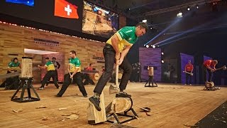 stihl timbersports world championship 2015 presented by vw amarok team competition part 1