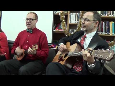 Christmas Songs & Carols, by American Teacher in Ukraine Kevin McCaughey, FULL