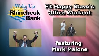 Fit Happy Steve's Office Workout featuring Mark Malone