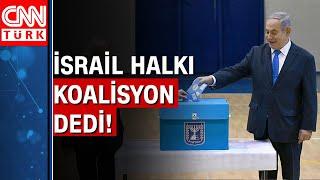 İsrail'de seçim sonuçları belli oldu! Siyasi kriz sona erecek mi?