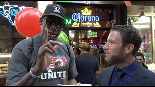 Barstool Pizza Review - Frankie Boy's with Special Guest Dennis Rodman