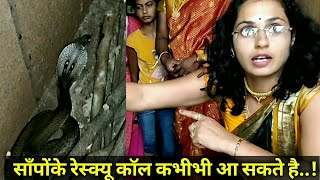 || शादीसे लौटते वक्त रेस्क्यू किया दूसरा कोब्रा (नाग) || Another cobra rescued by Nirzara Chitti ||