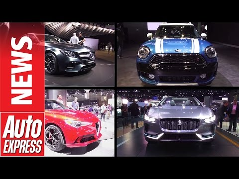 Best cars at the 2016 LA Motor Show