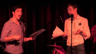 "Mike Faist & Adam Kaplan (Newsies) - ""Anything You Can Do"" from Annie Get Your Gun"