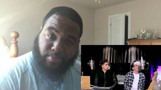 Fake Love, Broccoli and Caroline Cover by Alex Aiono and William Singe Reaction