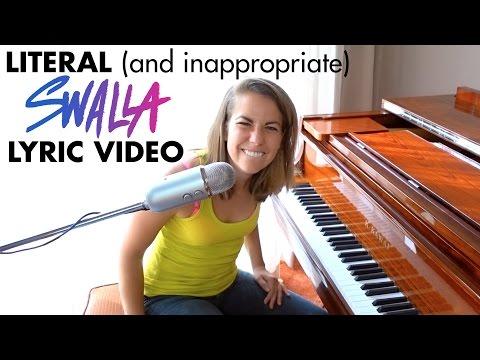 SWALLA literal lyrics Jason Derulo ft Nicki Minaj & Ty Dolla $ign piano  Ali Spagnola
