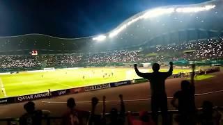 Indonesia vs Hongkong (Gemuruh Seluruh Stadion Patriot)
