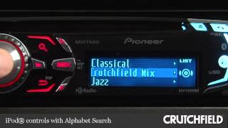 Pioneer DEH-X8500BH CD Receiver Display and Controls Demo | Crutchfield Video