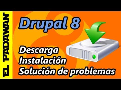 Cómo Instalar Drupal 8 en Español # COMPLETO