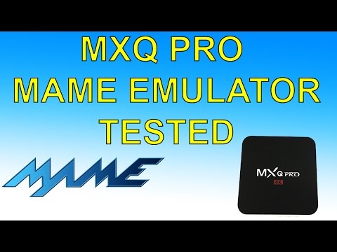 MXQ Pro Android TV Box MAME Emulator Test $30 Android TV Box MAME4ALL