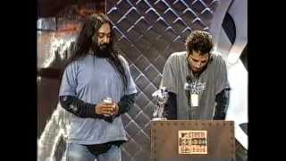 Soundgarden - 1994 Mtv VMA Award Before & After Interview + Award For Best Hard Rock / Metal Video