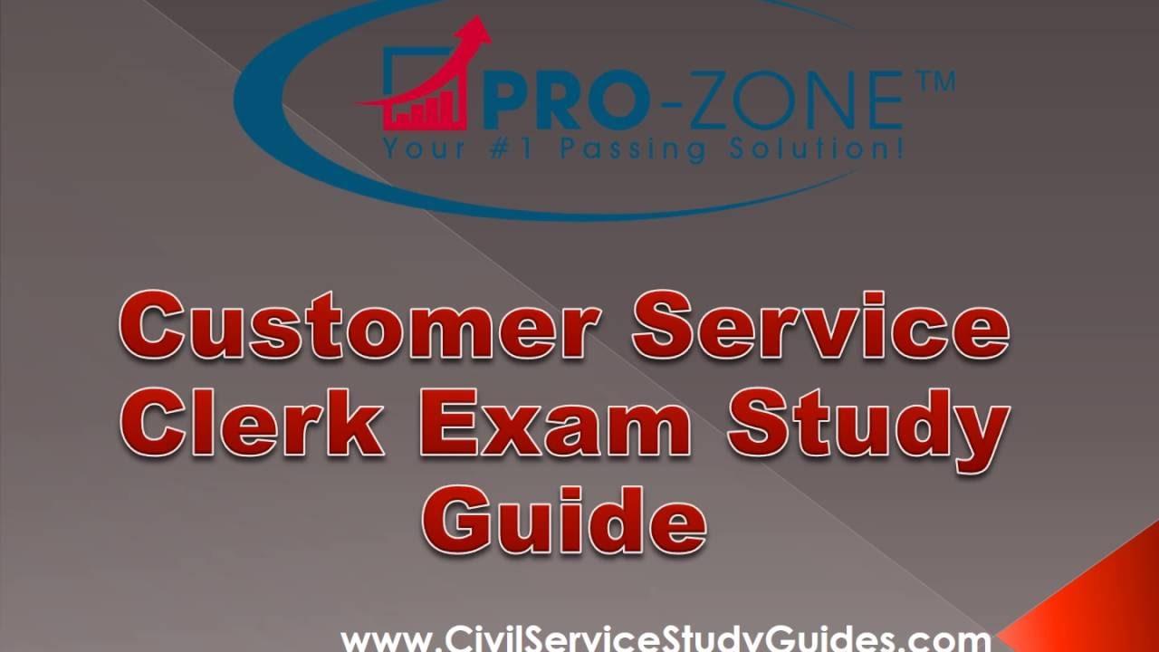 customer service clerk exam study guide youtube rh youtube com customer service & sales study guide answer key brunacini customer service study guide