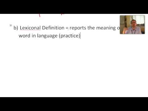 2.3  Definitions and Their Purposes