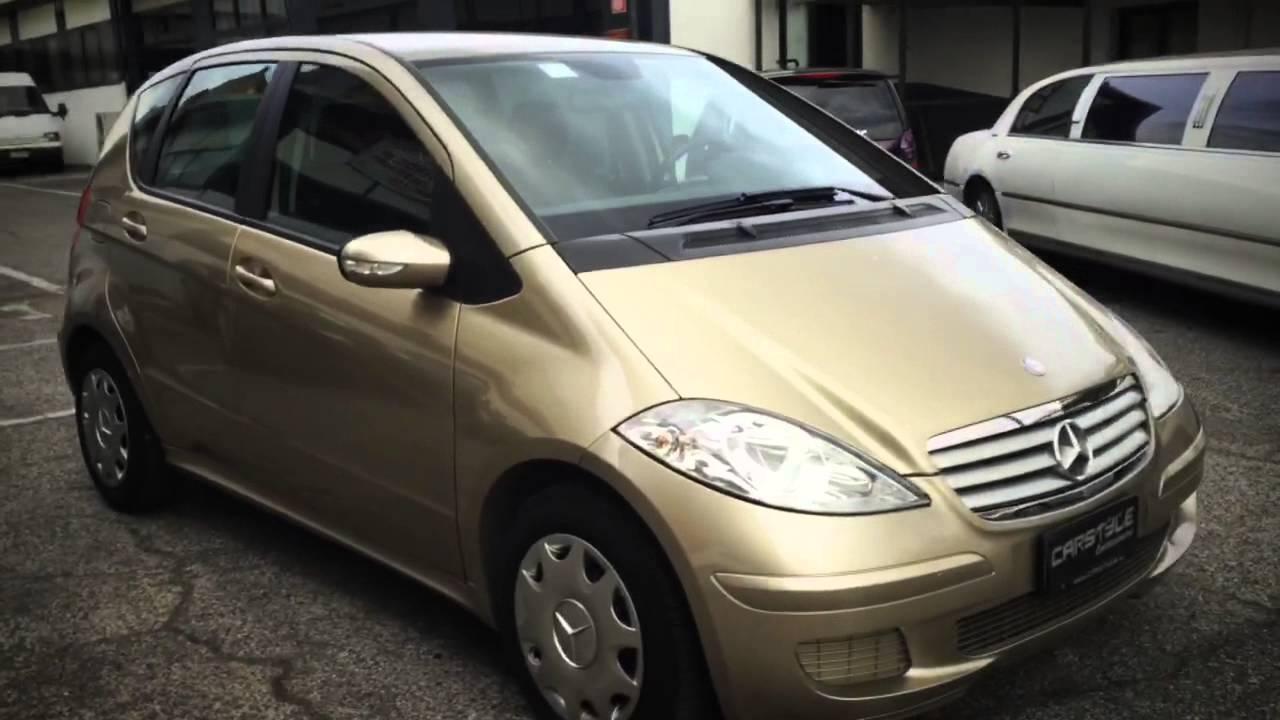 Mercedes classe a 180 youtube - Auto usate porta portese roma ...
