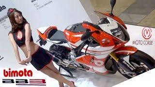 bimota BB3(BMW engine) MOTO CORSE 2016 Tokyo Motorcycle Show 【東京モーターサイクルショーレポ】