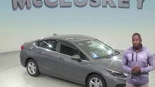 183587 New 2018 Chevrolet Cruze LT FWD 4D Sedan Gray Test Drive, Review, For Sale -