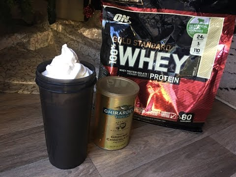 HOT CHOCOLATE PROTEIN SHAKE! Simple and Easy to make.