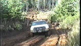 4x4 Thrash your stock rig and Mudding day Browns Camp Oregon Part 2