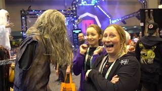 Shocktronic BEST SCARES at Transworld Halloween Haunt Show