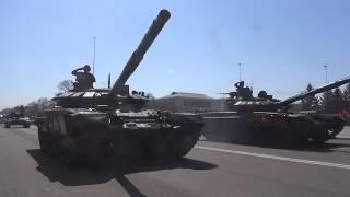 Парад Победы в Белогорске