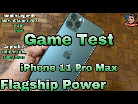 IPhone 11 Pro Max Game Test - Filipino