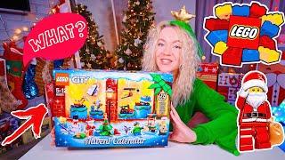 ШОК???? АДВЕНТ-КАЛЕНДАРЬ LEGO CITY ???? Распаковка и обзор подарок на новый год 2019