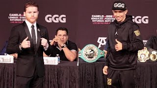 CANELO VS GGG 2- THE FULL FINAL PRESS CONFERENCE VIDEO
