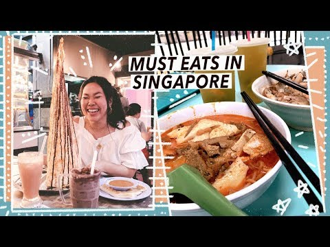 Singapore Street Food Tour & Michelin Cheap Eats in Chinatown!